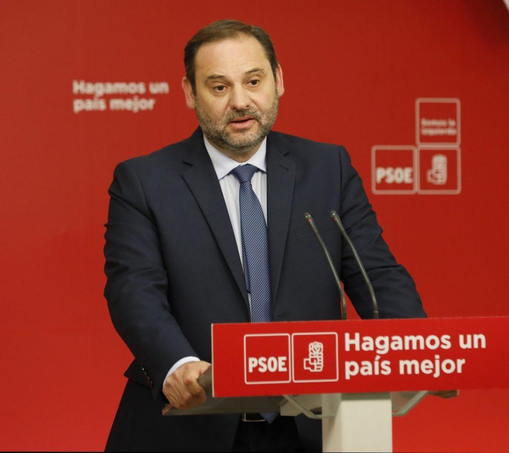 PSOE no negociará los apoyos a la moción y dice a Cs que puede haber elecciones en un tiempo «razonable y prudente»
