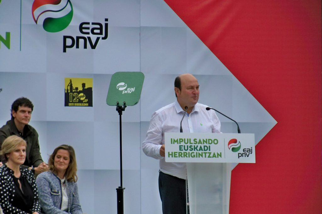 Ortuzar preguntará a Sánchez si su propuesta es «seria, aborda el modelo de Estado y si sintoniza con la Agenda Vasca»