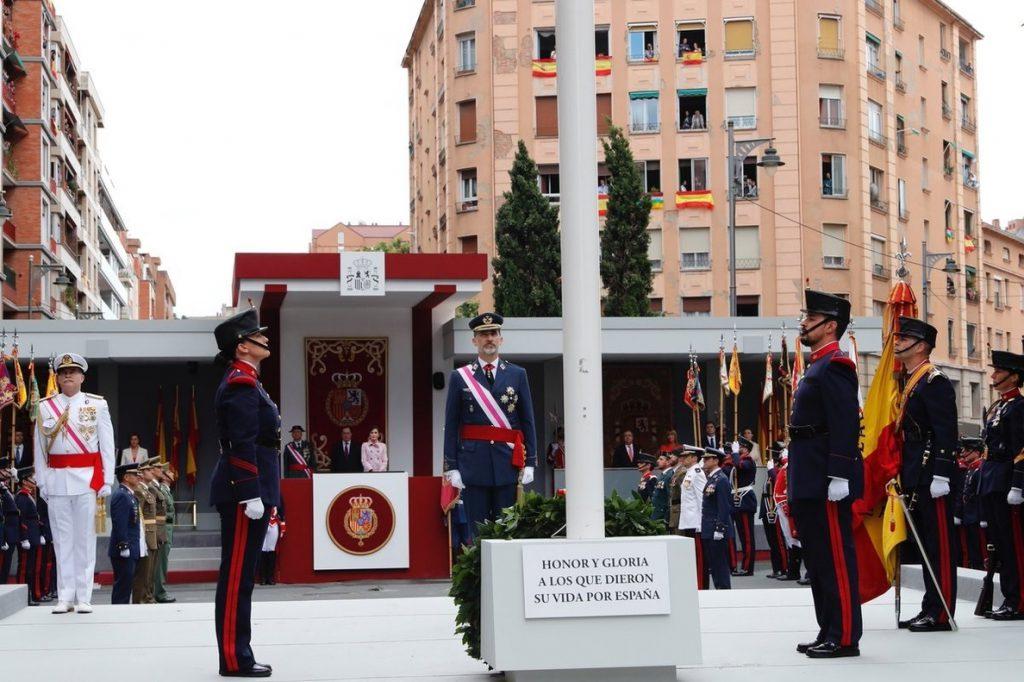 El Rey brinda en el Día de las Fuerzas Armadas por España, «lo que más nos une»