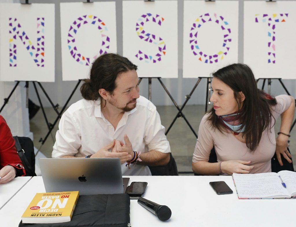 Iglesias y Montero seguirán al frente de Podemos pero toman «nota» del 31% de inscritos que piden su dimisión