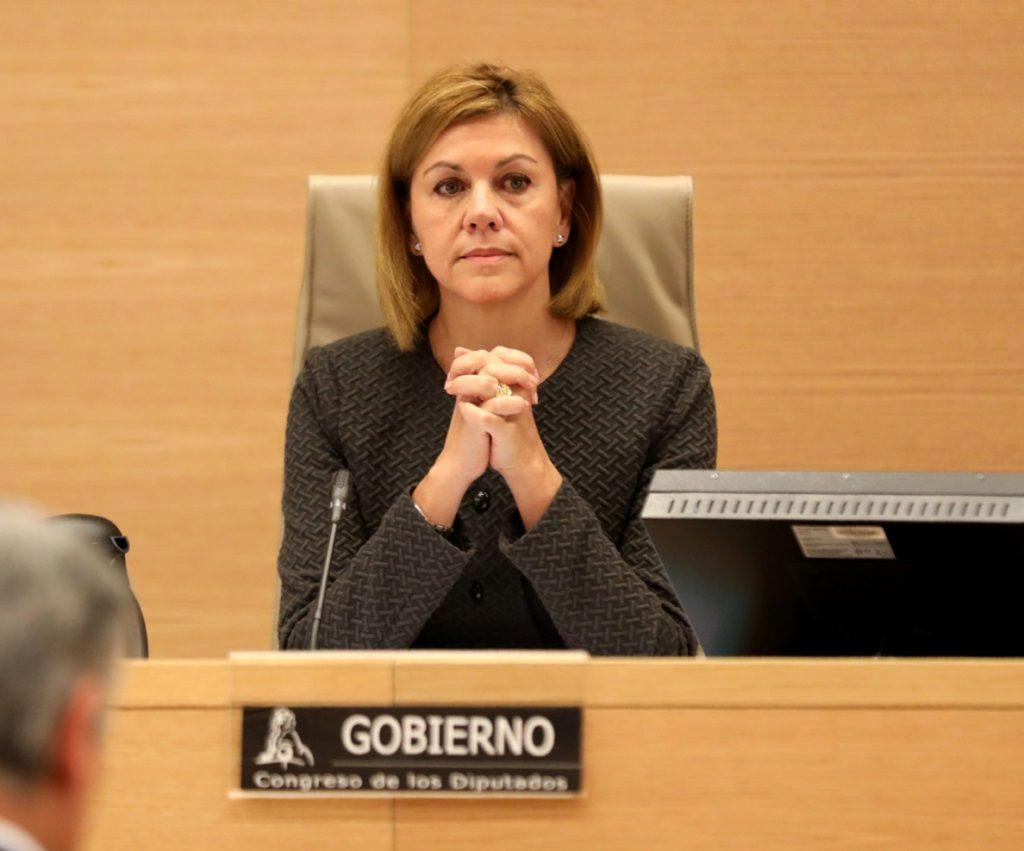 La comisión del Congreso que investiga la 'caja b' del PP recibe el martes a Cospedal