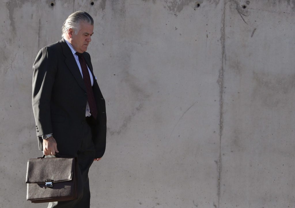 El tribunal acuerda prisión para Bárcenas, Ortega y López Viejo