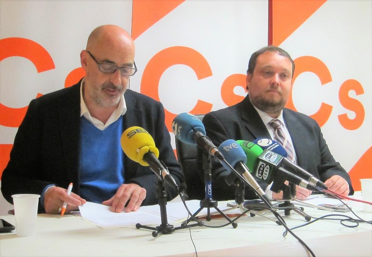 Cs en Cantabria inicia los trámites para crear una comisión de investigación sobre las «irregularidades» en la sanidad
