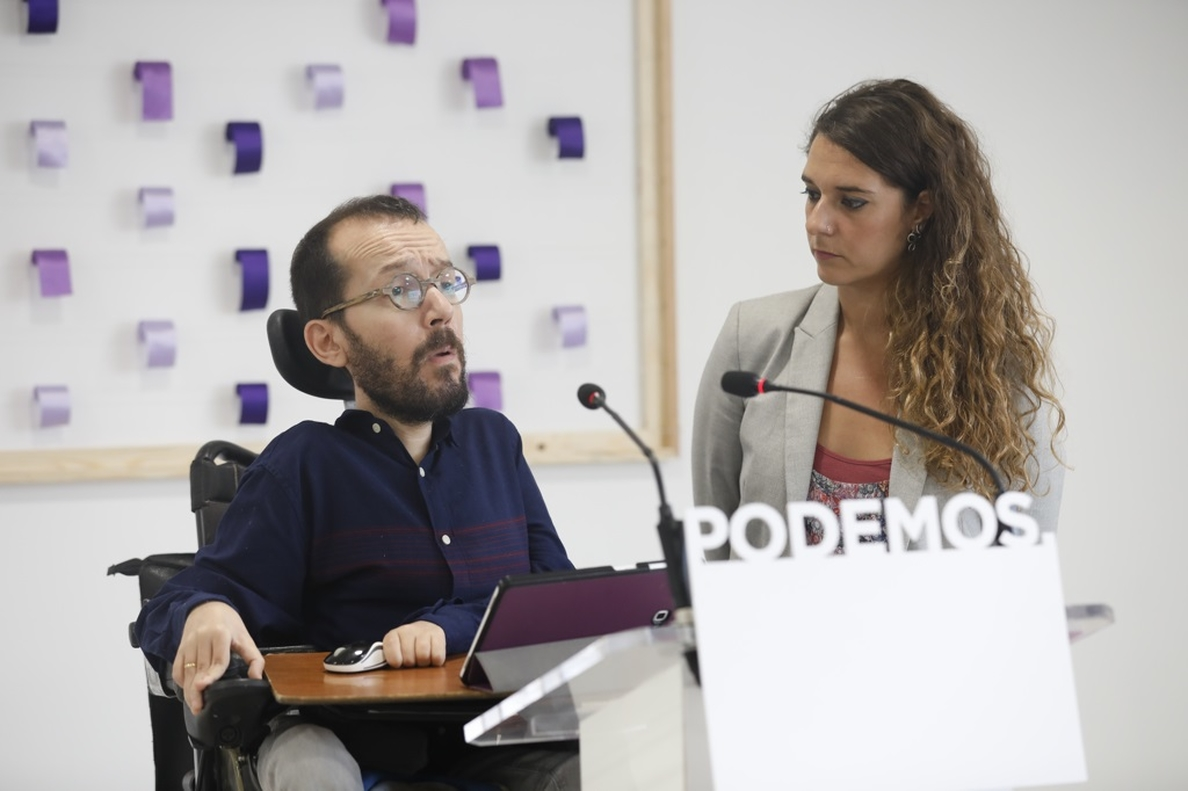 Echenique da por zanjada la polémica del chalé y elude comentar el 31% de inscritos que piden la dimisión de Iglesias