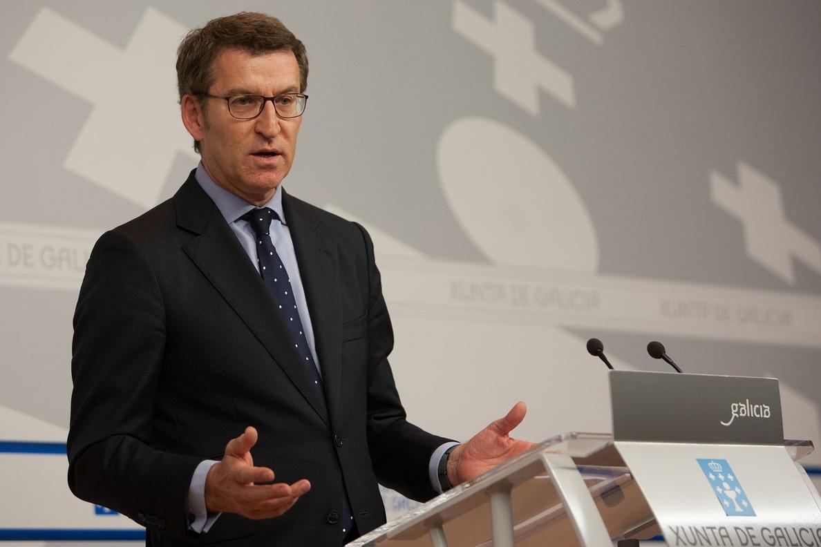 Feijóo garantiza que «nunca» será «un Judas» para Rajoy y reclama pedir perdón a los españoles por la Gürtel