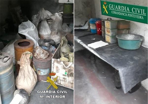 Fiscalía pedirá prisión para el pirotécnico de Tui, detenido por segunda vez tras hallarse más zulos de explosivos