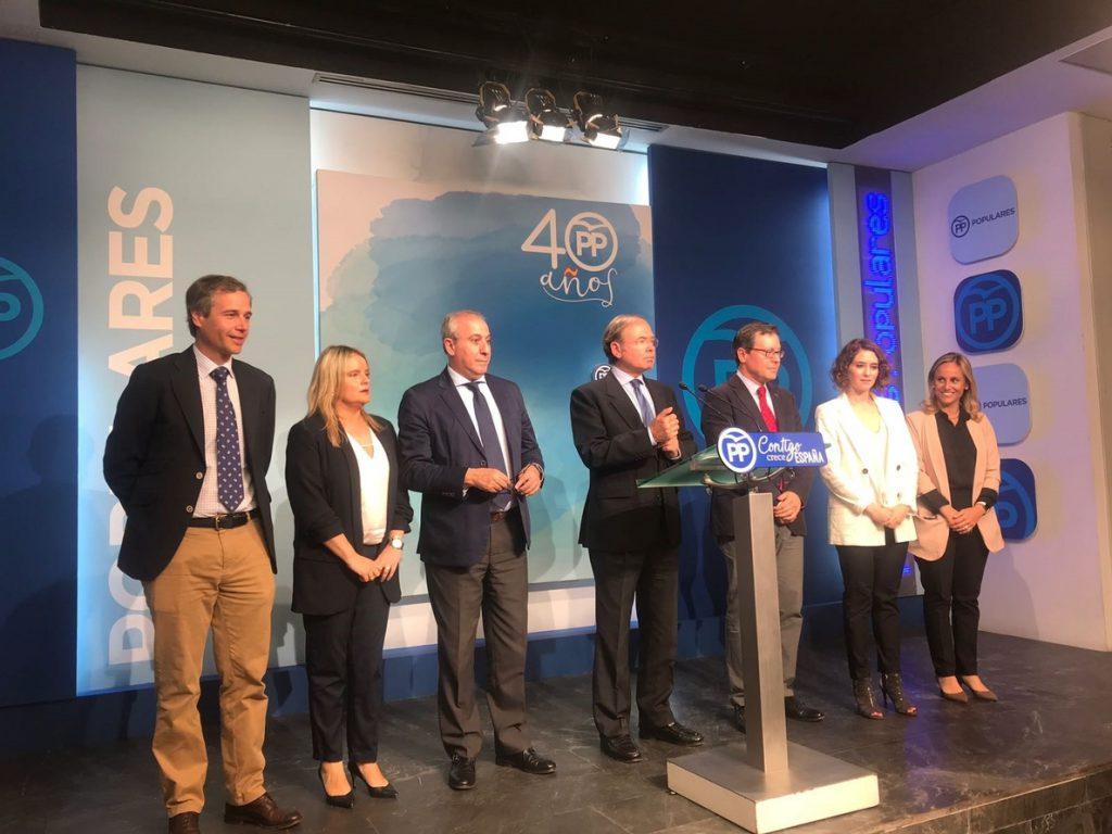 García-Escudero cree que si se habla de «renovación» él no es «la persona más adecuada» para encabezar el PP de Madrid