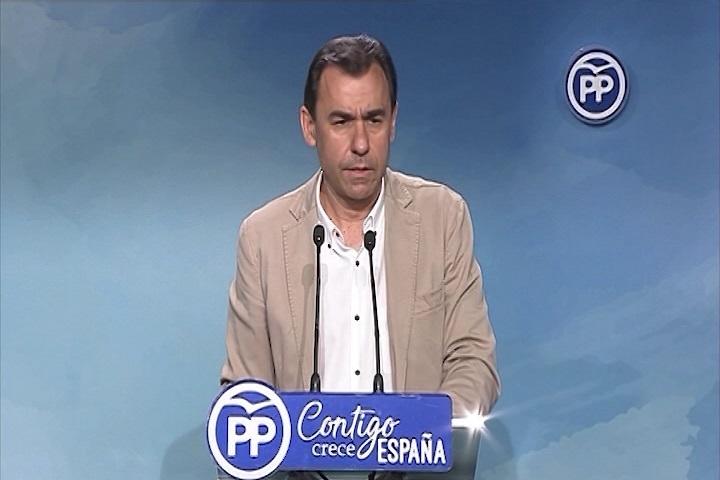 Maillo (PP): «Ni estamos para mociones, ni para elecciones, ni para congresos extraordinarios del partido»