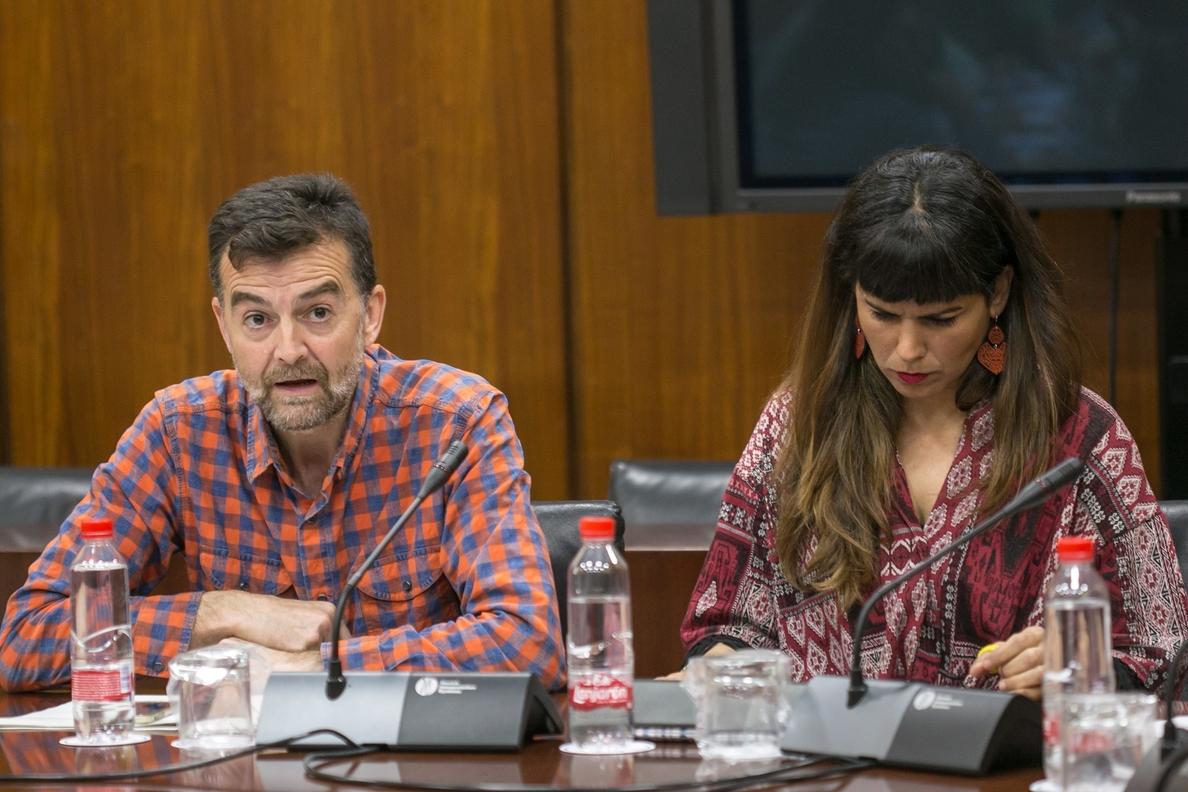 Podemos e IU llaman a organizaciones políticas y sindicales a sumarse a la confluencia para poner en centro a Andalucía