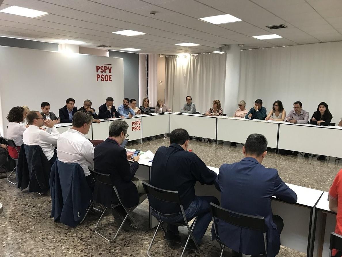 Puig sobre la moción: «Hay partidos que están con encuestas y calculadoras y el PSOE con la ética de la responsabilidad»