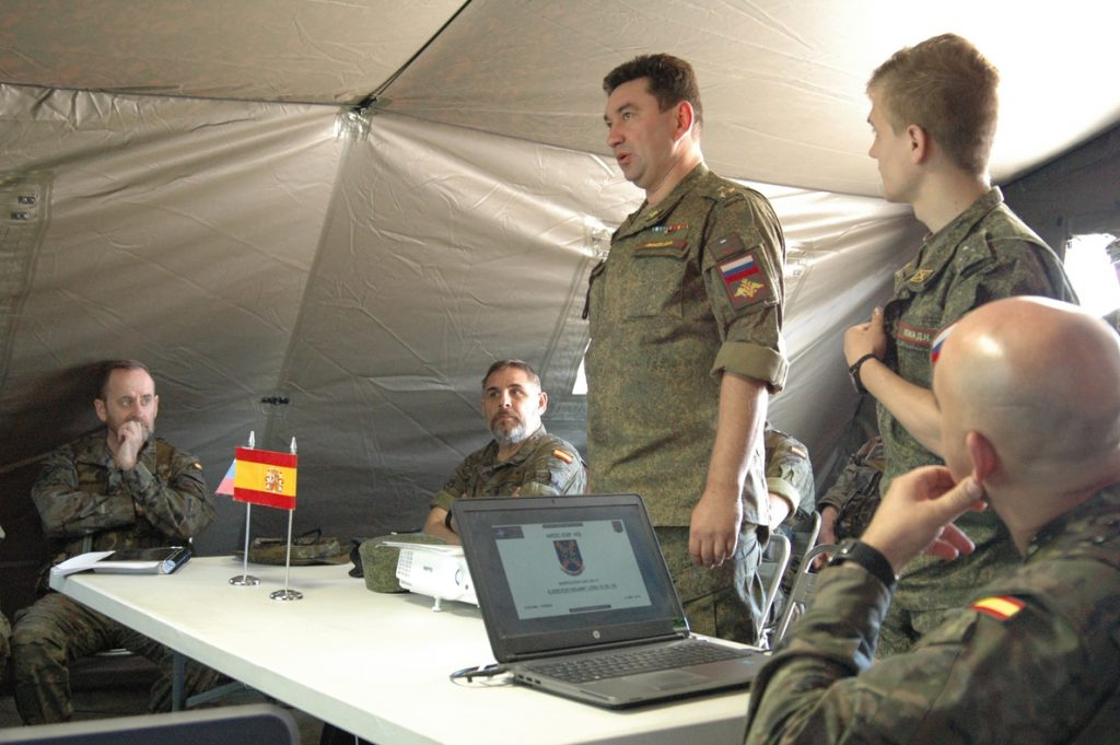 Rusia inspecciona las instalaciones militares de Valencia y Albacete como permiten las normas de la OSCE
