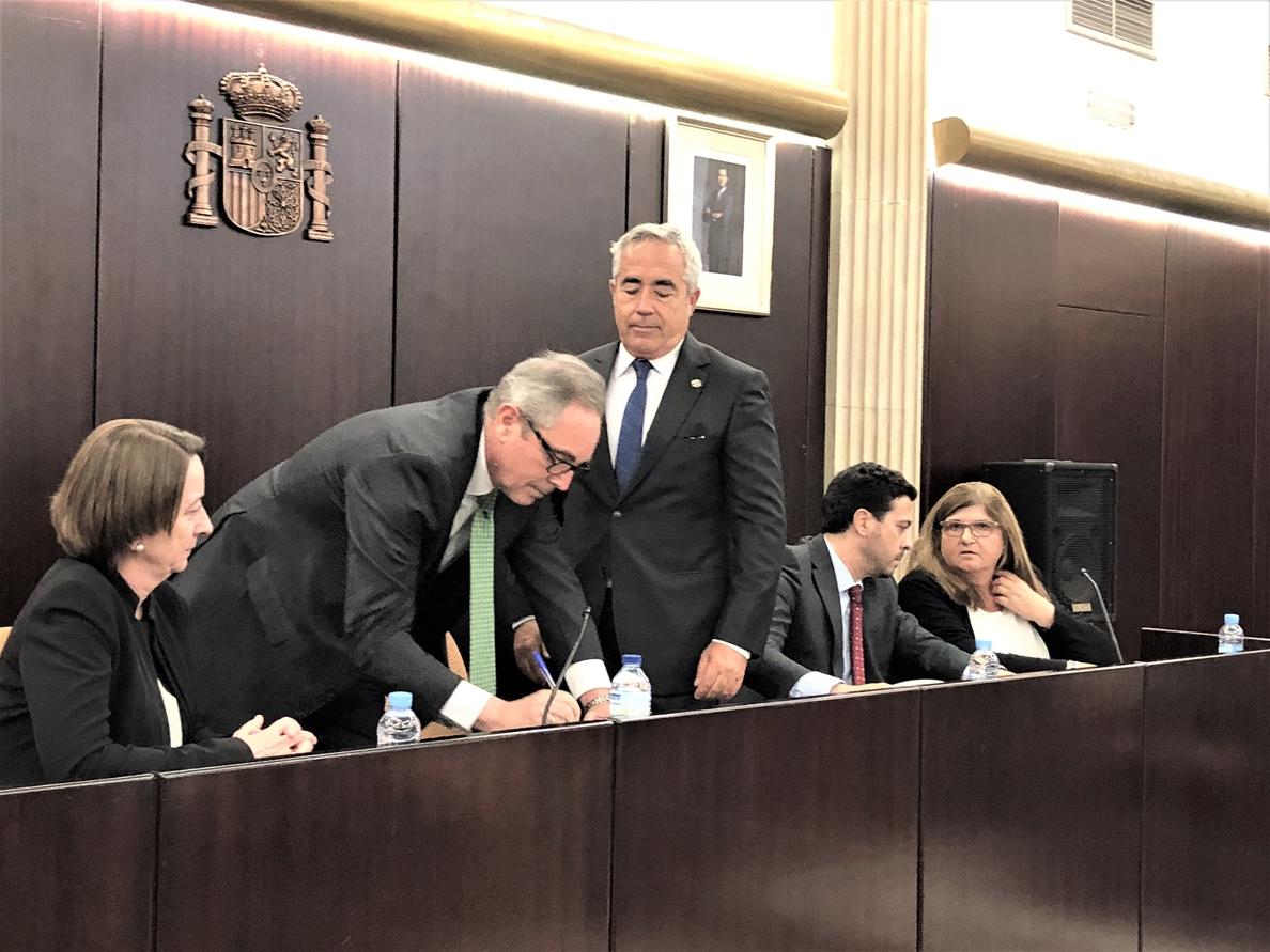 El teniente fiscal de Cataluña pide instituciones no «secuestradas por la ideología»