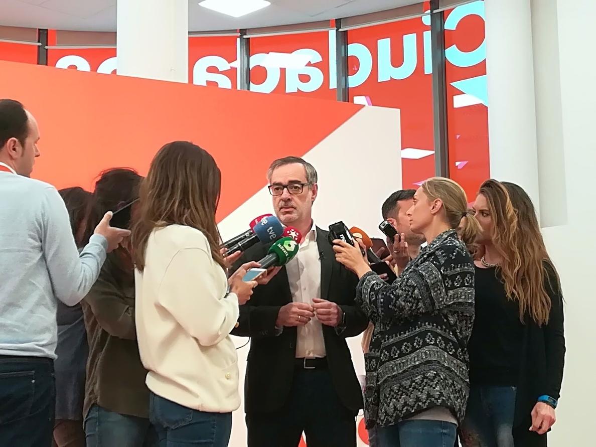 Ciudadanos critica el «dedazo» del Gobierno al designar a Hernández de Cos, a quien da «un voto de confianza»
