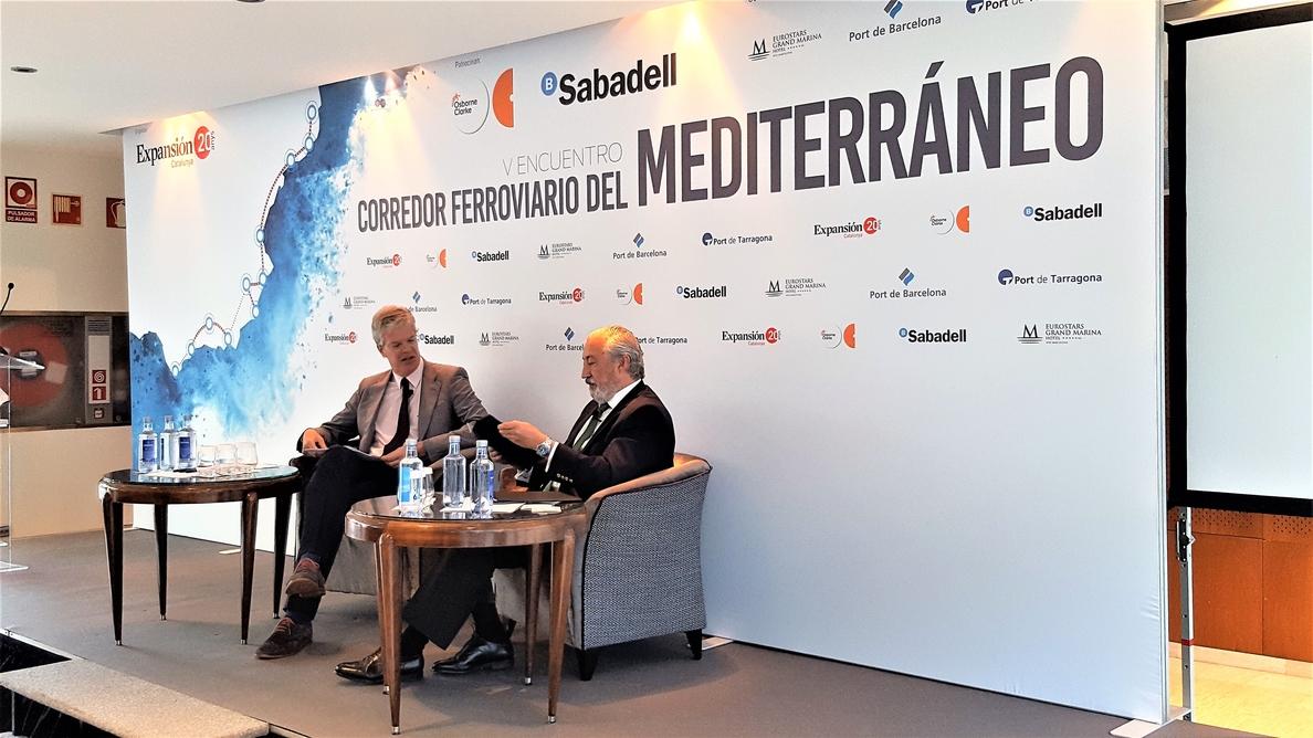 El Gobierno dice que la ejecución del Corredor Mediterráneo supera el 90% en Cataluña