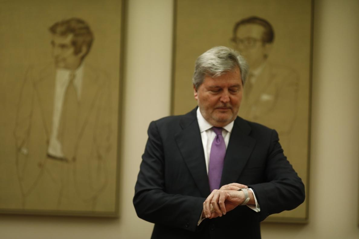 Méndez de Vigo afirma que la financiación no era el problema del Pacto Educativo: «Siempre hubieran pedido más»