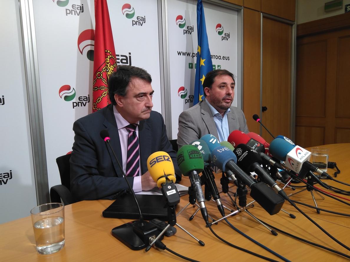 PNV sigue sin decidir su voto a la moción de censura y exige a Sánchez que «despeje las incógnitas»