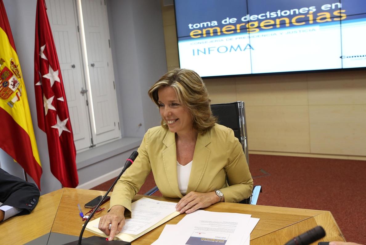 La exconsejera Plañiol (PP) se niega a comparecer en la comisión sobre el Campus de la Justicia en la Asamblea de Madrid