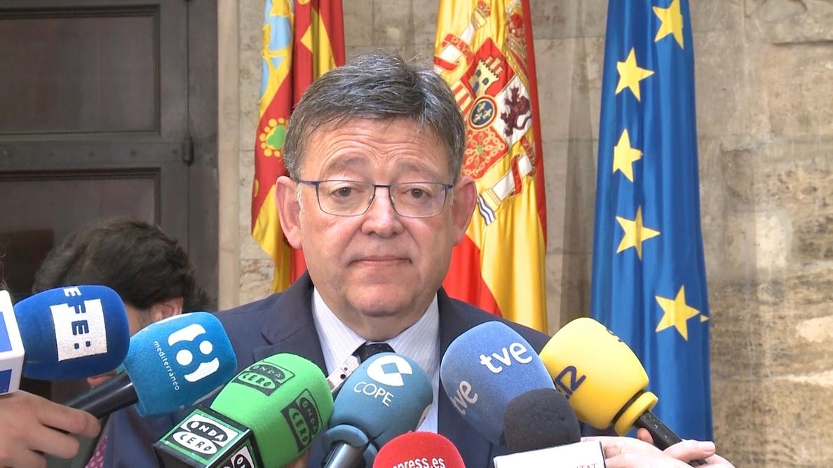 Puig afirma que «aceptaría» la petición de Ciudadanos de fijar elecciones en otoño si de él dependiera