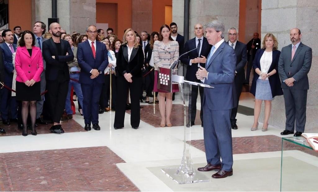 El Rey recibe este miércoles a Ángel Garrido como presidente de la Comunidad