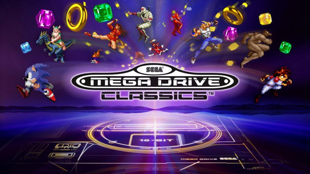 Ya disponible SEGA Mega Drive Classics para PS4 y Xbox One, con más 50 títulos retro