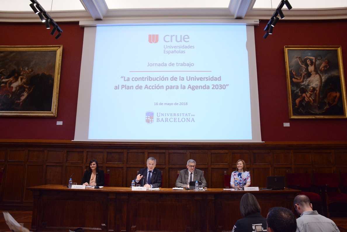 Crue Universidades Españolas acuerda su contribución al Plan de Acción estatal para implementar la Agenda 2030 de la ONU