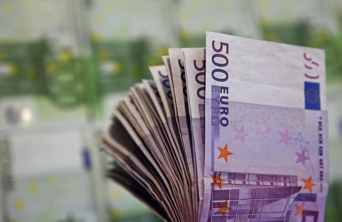 El número de billetes de 500 no varía en abril y sigue en niveles de 2003