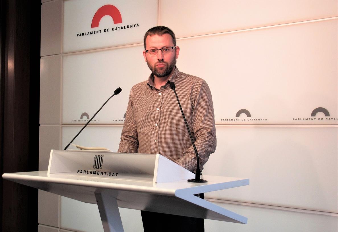 La CUP reprocha que ERC y PDeCAT avalen la moción de censura del PSOE  sin condiciones