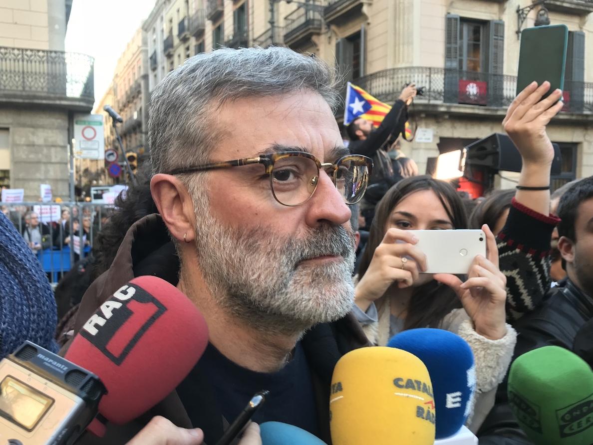 La CUP tacha de «patética» la actitud del independentismo en la moción de censura a Rajoy