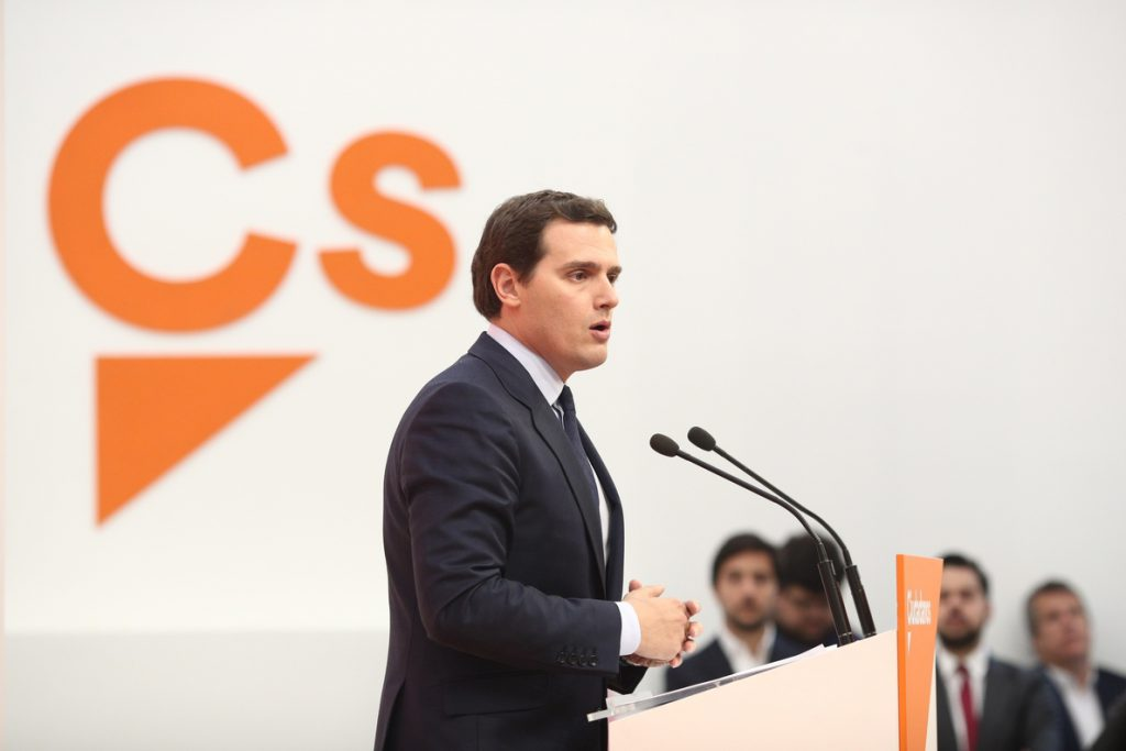 Ciudadanos advierte de que la crisis política puede favorecer un proceso separatista en el País Vasco