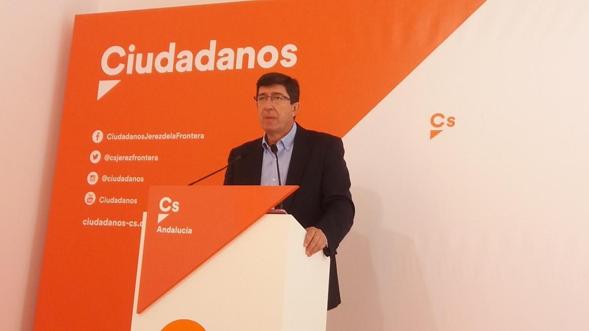 Cs dice que si la sentencia de los ERE condenara al PSOE pediría la dimisión de Díaz y elecciones en Andalucía