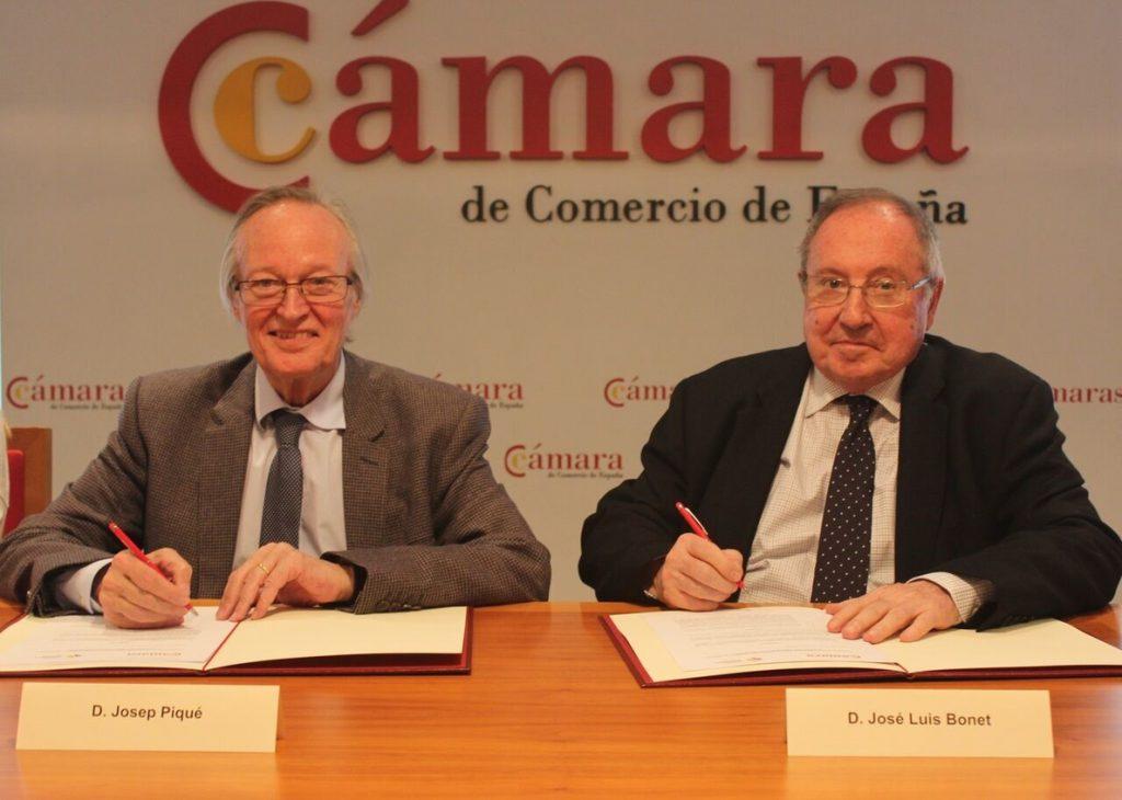 Cámara de España y Fundación Iberoamericana Empresarial acuerdan reforzar relaciones con Iberoamérica