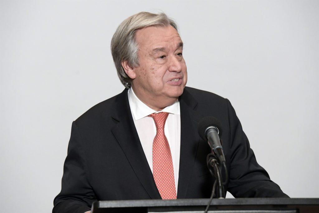 Guterres condena el ataque en Lieja y expresa la «solidaridad» de la ONU con Bélgica