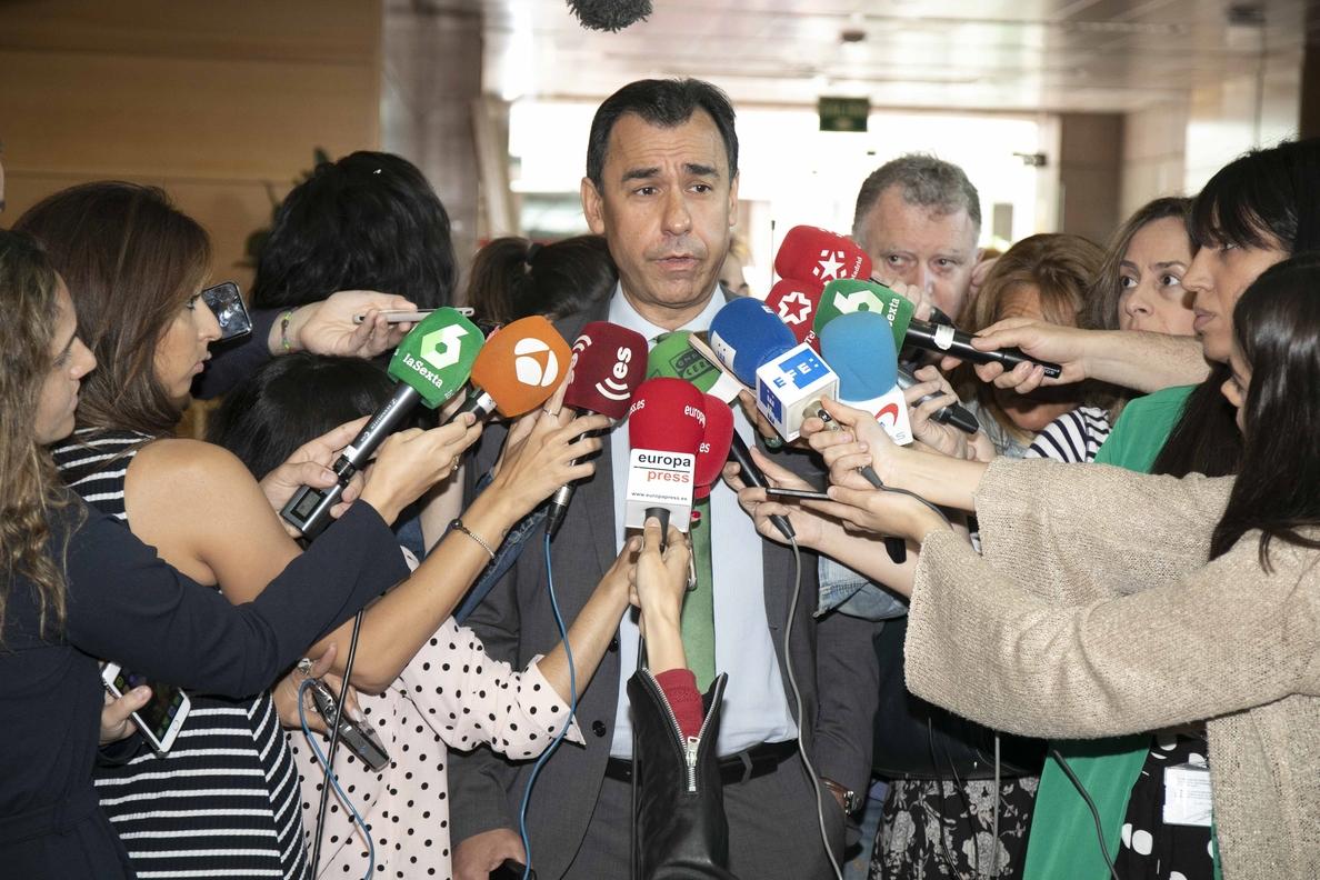 Maillo ve a Sánchez en «una subasta» y pide que aclare qué está pactando para «un Gobierno frankenstein»