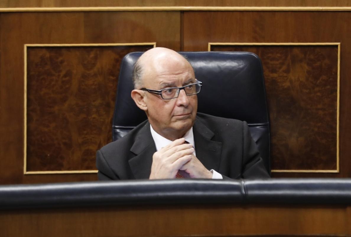 Montoro ve «enternecedor» que el PSOE se preocupe por un posible desvío del déficit