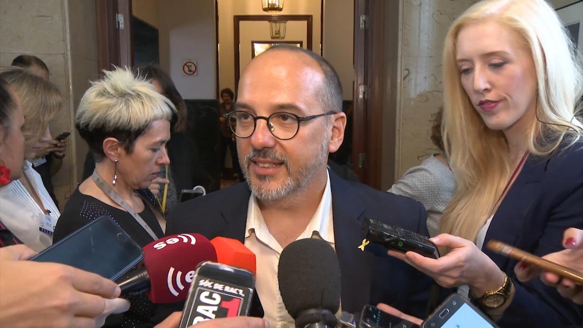 El PDeCAT desvincula el fin del 155 de la moción de censura y garantiza que votará lo mismo que ERC