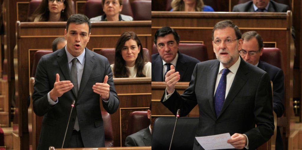 El PP y PSOE defienden sus tesis en redes sociales: «moción chantaje» versus «moción por dignidad»