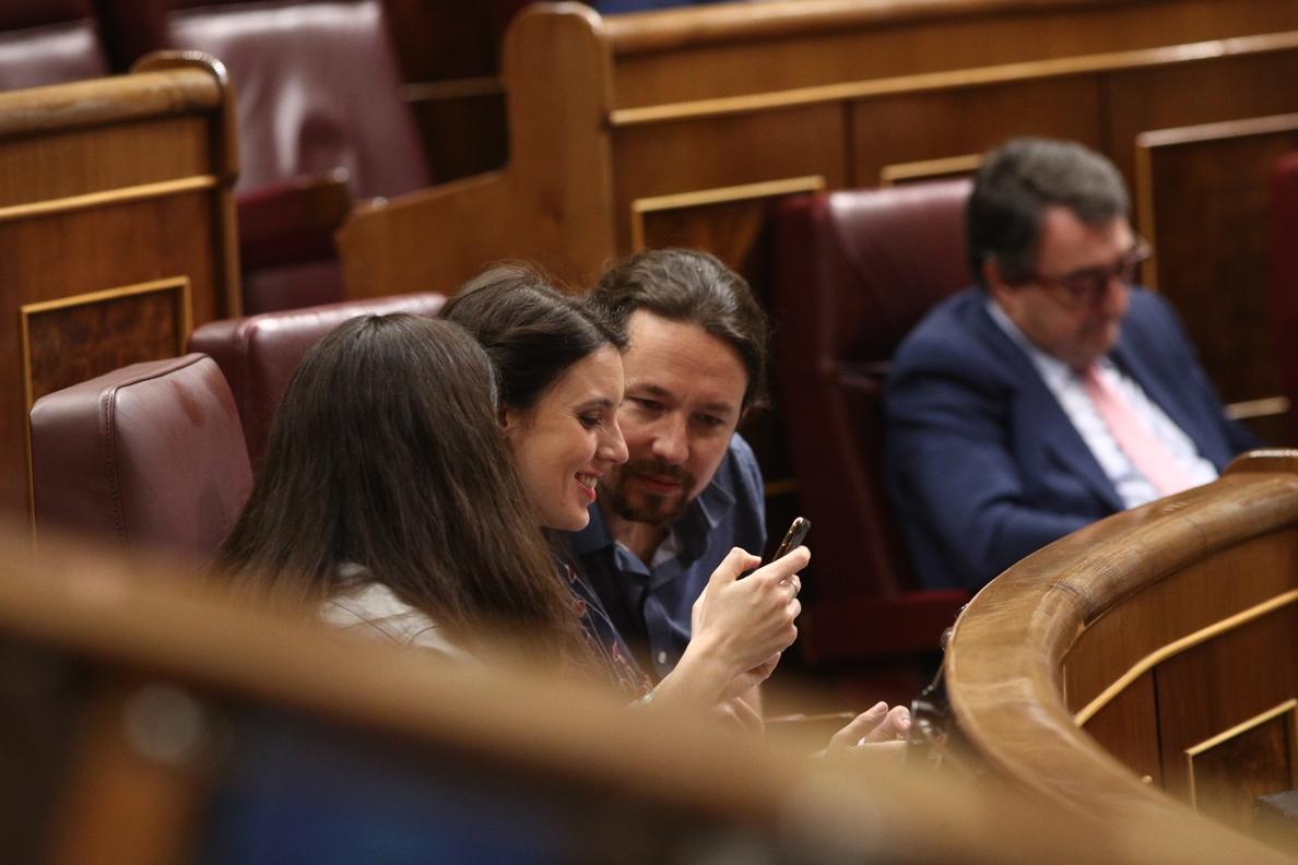 Pablo Iglesias cree que el PNV votará a favor de Pedro Sánchez y que la moción de censura saldrá adelante
