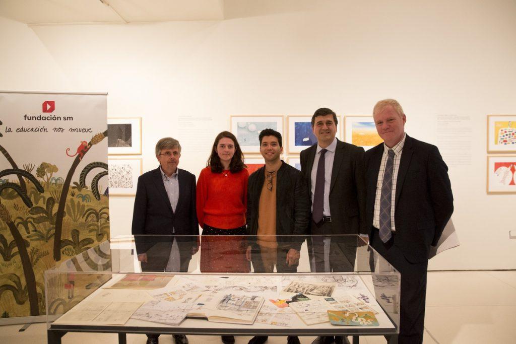 Una exposición reúne la obra de los ganadores del Premio de Ilustración de la Feria de Bolonia-Fundación SM