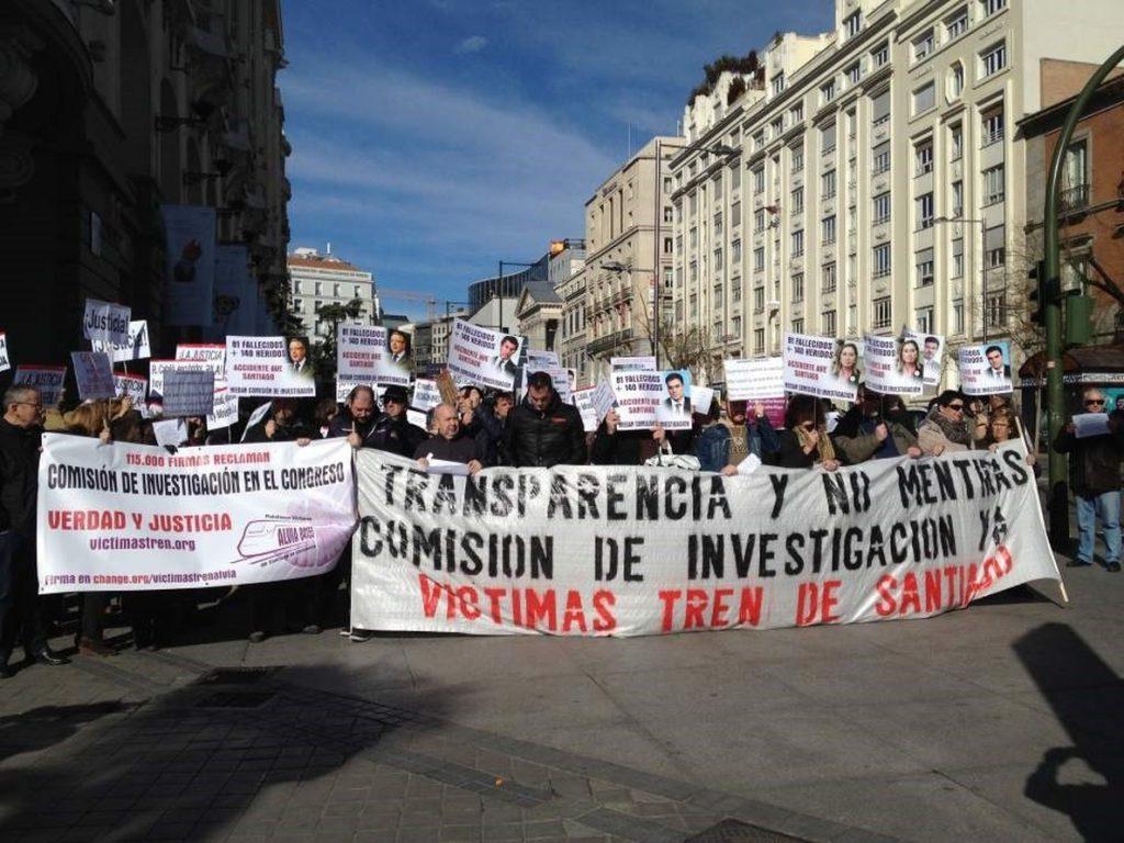 La comisión del accidente de Angrois prevé comenzar con el testimonio de las víctimas y cerrar con los políticos