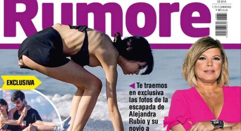 La delgadez de Alejandra Rubio desata la polémica, ¿sufre anorexia la hija de Terelu?