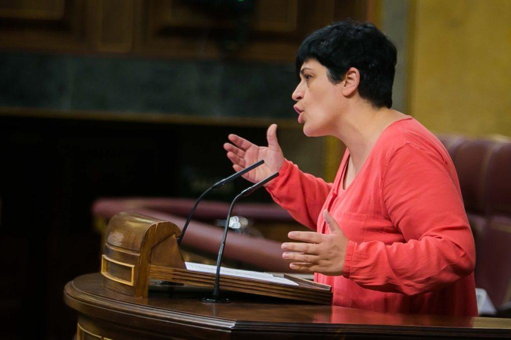 Bildu apoya la moción, aunque dice no confíar en Sánchez porque «forma parte del mismo régimen»