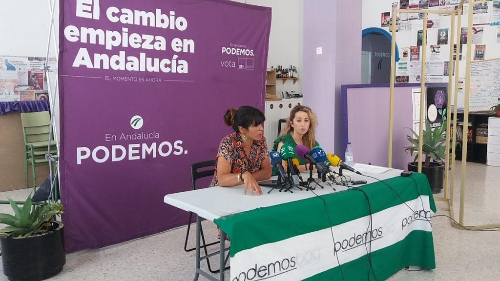 Teresa Rodríguez difunde «por error» una conversación con Echenique en la que le acusa de «sobrepasar líneas rojas»