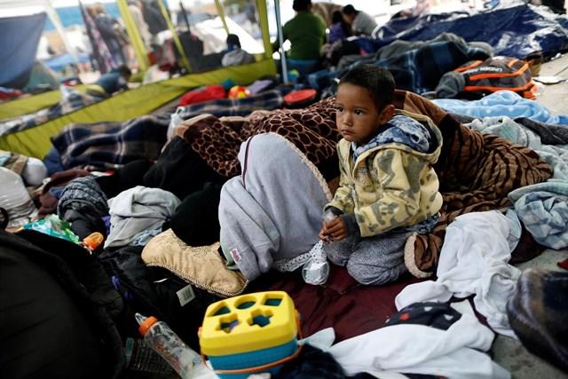 El número de niños y adolescentes migrantes en México se ha multiplicado por nueve en lo que va de año