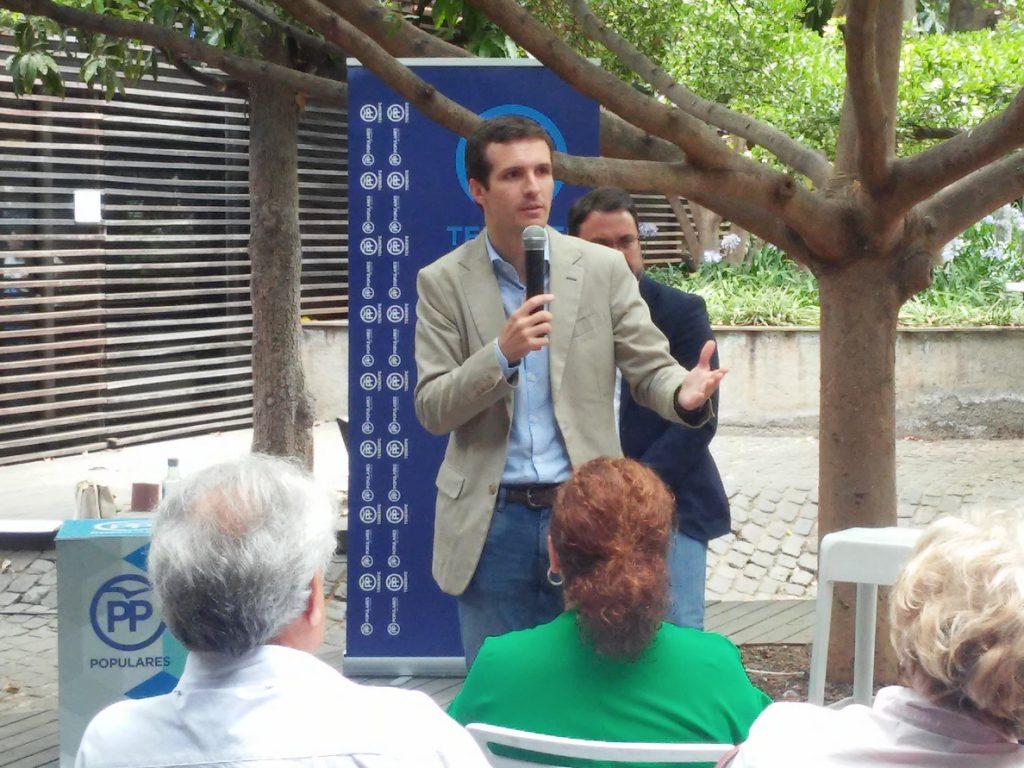 Casado apoya que los candidatos al PP se comprometan contra la excarcelación de presos de ETA propuesto por Cospedal