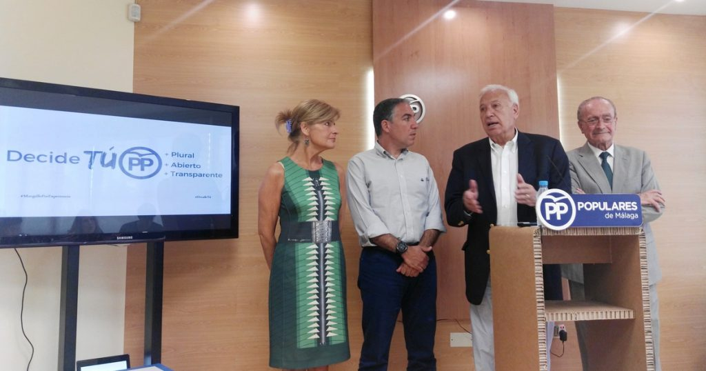 Margallo apuesta por un «gran proceso de refundación» del partido y de «ruptura respecto a lo anterior»