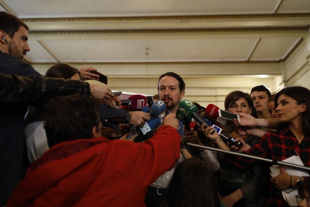 Pablo Iglesias afirma que los medios de comunicación «son los instrumentos de politización más importantes»