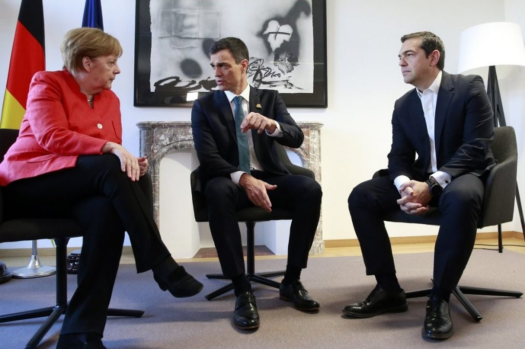 Pedro Sánchez acuerda con Merkel acoger de vuelta a demandantes de asilo que llegaron a Alemania desde España