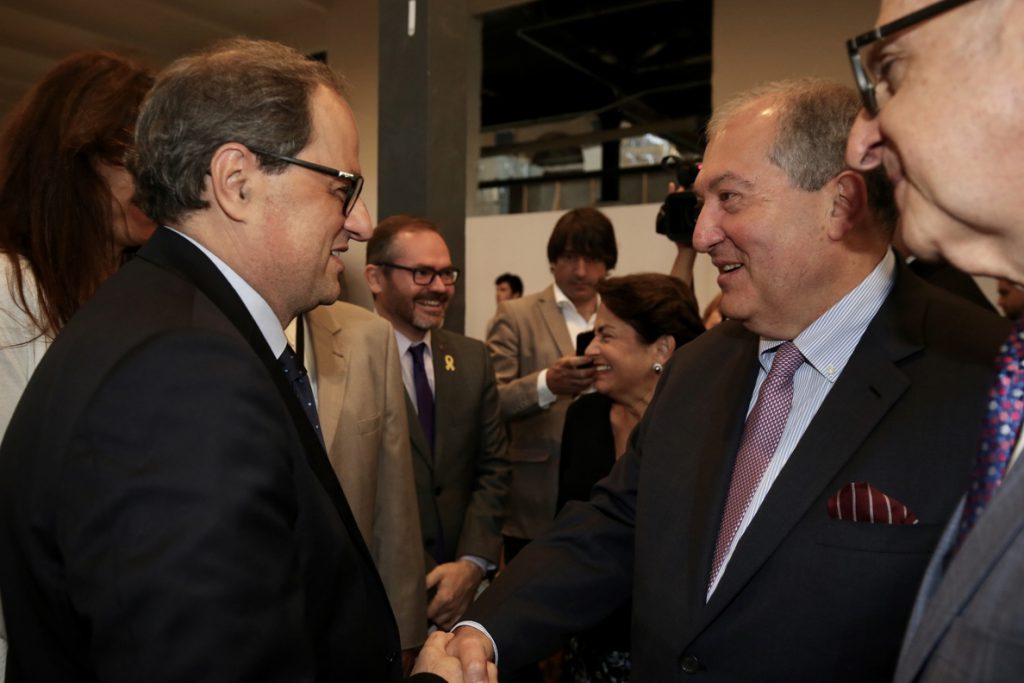 Torra afea a Borrell que apoye al embajador Morenés y avisa: «Tomo debida nota»