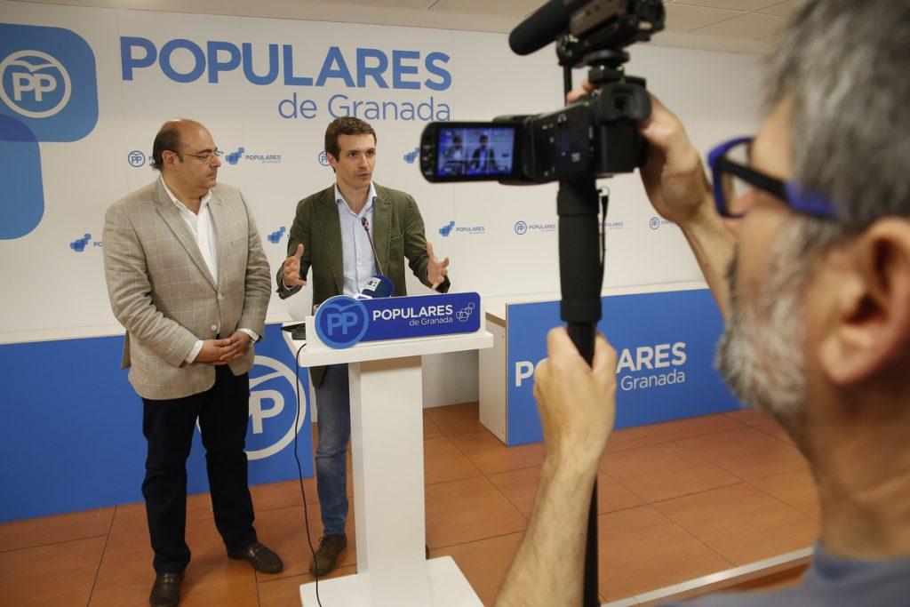 Casado apuesta por un PP «emprendedor» en Andalucía: «40 años son demasiados de socialismo»