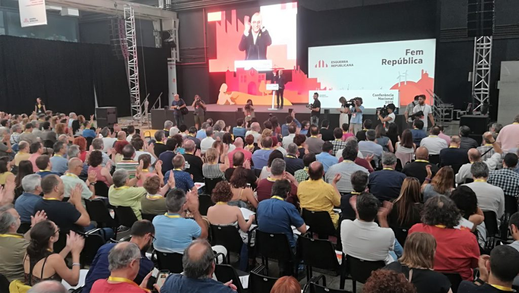 ERC cambia el título de su ponencia de 'Fem República' a 'Ara, la República catalana'